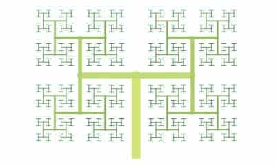 Дерево H (H-Tree)